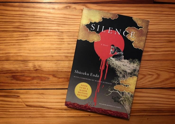 Photo of the book Silence by Shusaku Endo