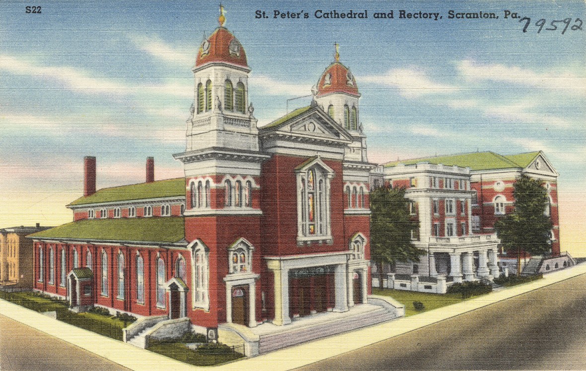 St Peter's Cathedral, Scranton, Pa.