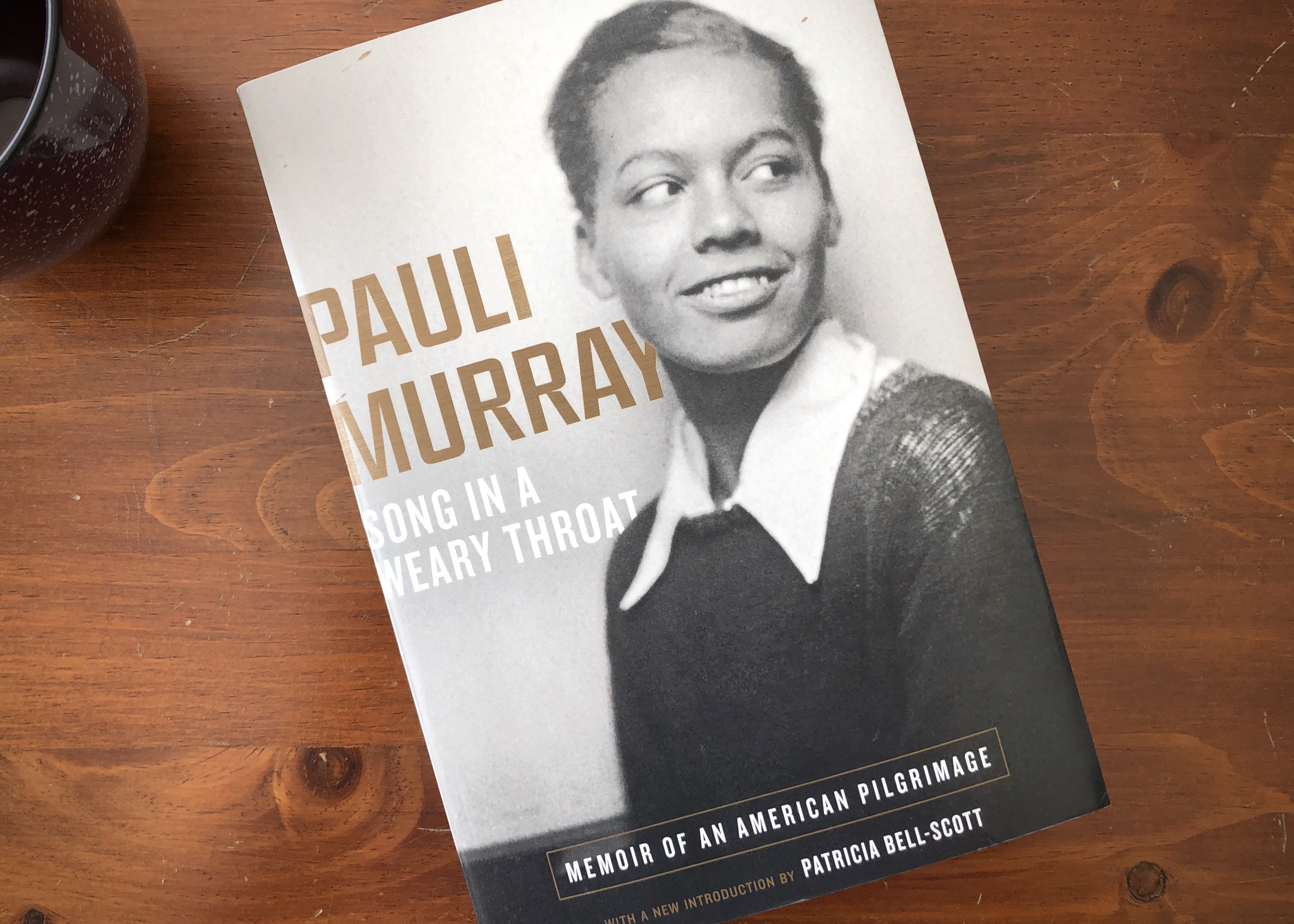 Cover of Pauli Murray's memoir Song in a Weary Throat